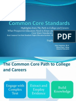 Common Core ELA Overview Angstrom
