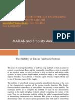 Matlab Stabiliy Analysis
