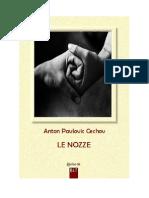 Anton Cechov - Le Nozze