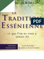 e Book La Tradition Essenienne