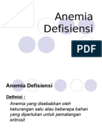 Anemia Defisiensi