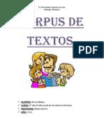 Corpus de Textos