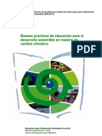 Buenas prácticas de educación para el desarrollo