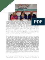 DISCURSO DE LA DRA DENISE DRESSER EN EL SENADO DE LA REPUBLICA