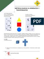 Las Formas Geometricas Basicas Su Generacion y Transformacion