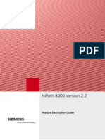 HP8000 V2.2 Feature Description Guide