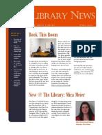 Library News April 2013