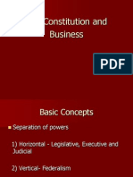 Constitution and Business