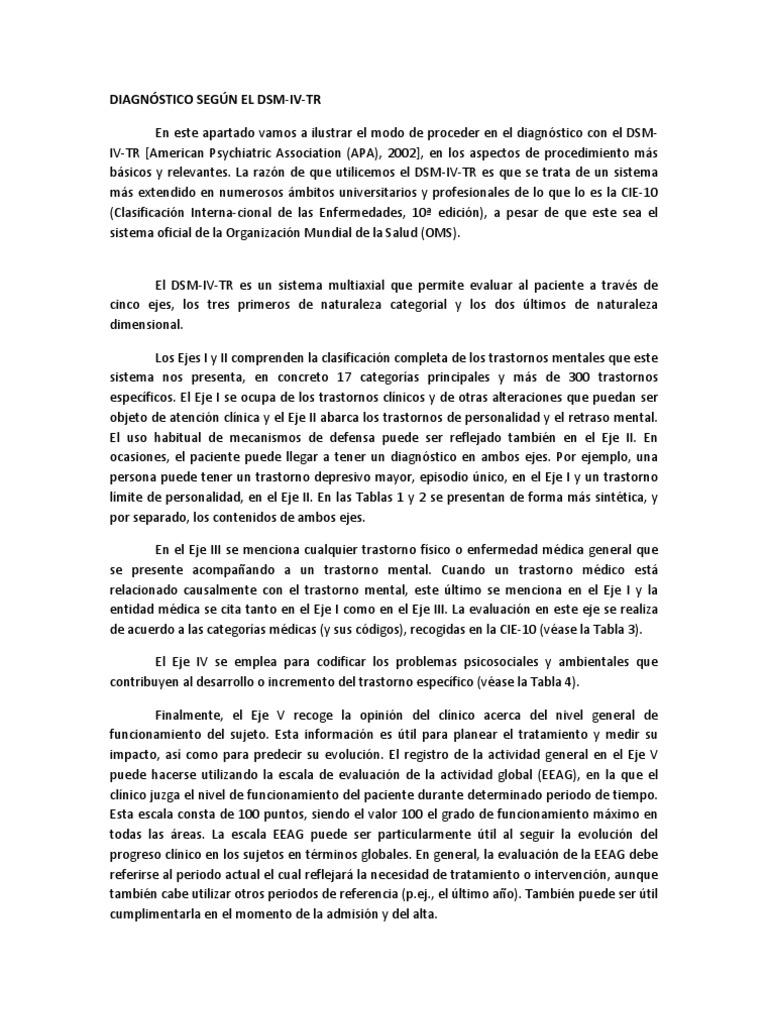dsm iv tr descargar gratis pdf español