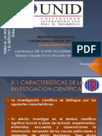 Tema III La Investigacion y El Metodo Cientifico_claudia Resendez