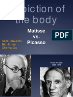 Matisse vs Picasso Depiction of the Body