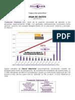 Hoja de Datos TeleGenio Abril de 2013