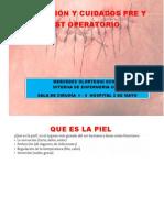 Prevención y cuidados pre y post operatorio