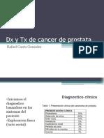 Dx y TX de Cancer de Prostata