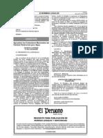 1. NORMATIVA D.s_002 - 2008 - Estandares Nacionales de Calidad de Agua