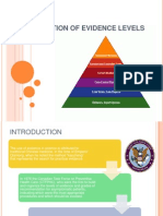 Classification of Evidence Levels