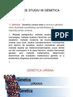 Metoda de Studiu in Genetica Umana_alberrt
