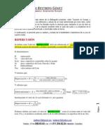 Definición y Formula de Valor de REPERCUSIÓN