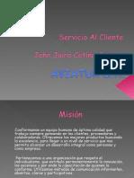 Servicio Al Cliente Cultura Corporativa John Cetina 2
