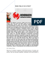 Mondragon a Better Way to Go to Work