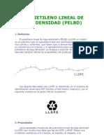 Polietileno Lineal de Baja Densidad
