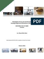 Programa Articulado Nutricional-Avances 2012