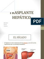 Transplante hepático