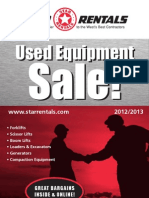 Used Equipment Sale