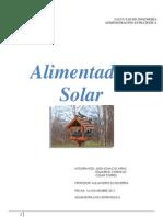 Alimentador Solar 4