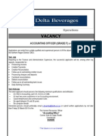 Advert Accounting Officer x 4 - Dbcs