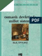 Bilal Eryilmaz Osmanli Devletinde Millet Sistemi (1992)