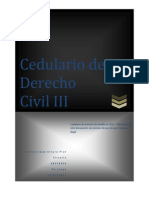 Cedulario de Civil