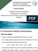 Processos cinéticos elementares