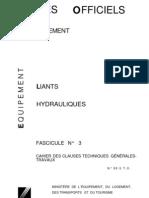 F3 - Liants hydrauliques