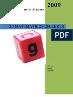 Matematicos Celebres