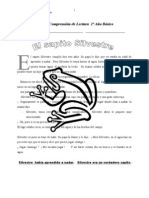 COMPRENSION DE LECTURA 2º EL SAPITO SIVESTRE