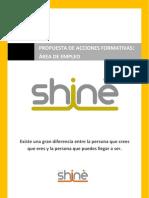 Catálogo acciones formativas Grupo Shinè Empleo