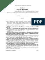 Senate Bill 250 (2011)