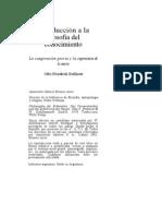 INTRODUCCIÓN A LA FILOSOFÍA DEL CONOCIMIENTO