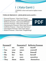 Pronoun ( Kata Ganti )