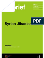 Syrian Jihadism - by Aron Lund
