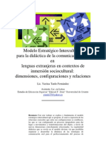 Modelo Estratégico Intercultural PA LA EXPRESION ORAL