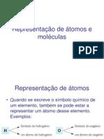 9-Representação de átomos e moléculas