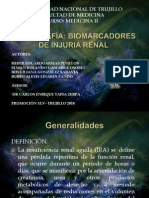 Exposicion Biomarcadores de Injuria Renal