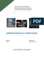 Generaciones Computadora