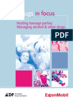 Hosting Teenage Parties - Managing Alcohol & Other Drugs