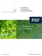 2013 Private Equity Market Outlook Final1