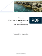 Life of Apollonius of Tyana, Philostratus, tr. F.C. Conybeare