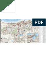 Mapa Cantabria 2011 Bolsillo