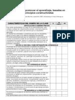 GUIA EVALUAR USO PRINCIPIOS CONSTRUCTIVISTAS EN DISEÑO CLASES - version 6 ASUNCION